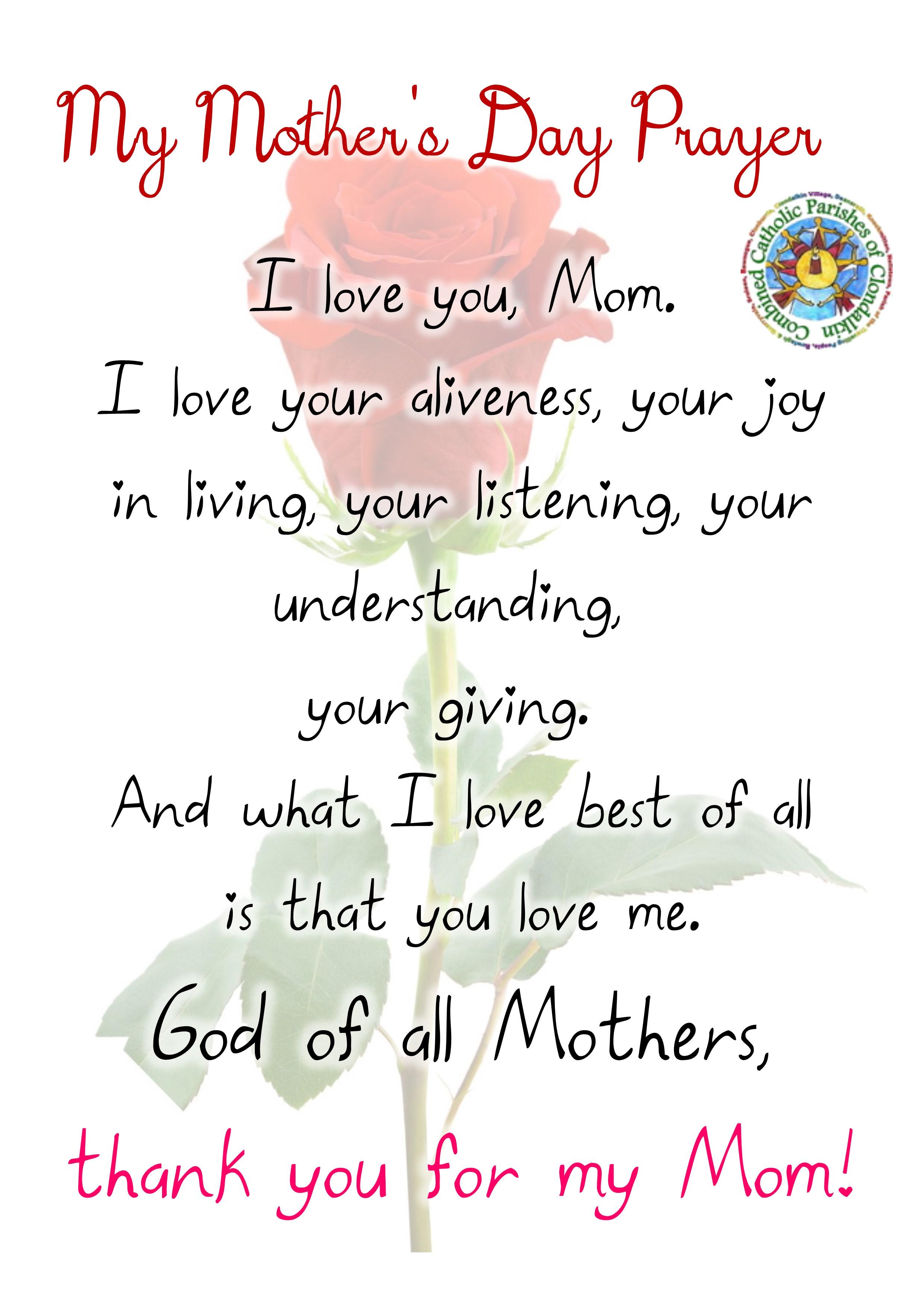 Mothers Day 11th March   Clondalkin Village Parish